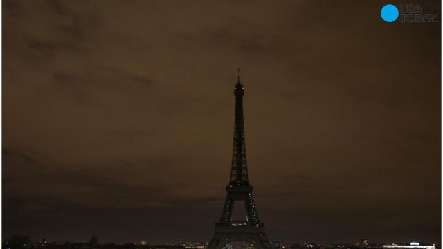 The Eiffel Tower dimmed its lights in a show of solidarity with London, after multiple people were killed and dozens were injured in an attack near the United Kingdom's Parliament.