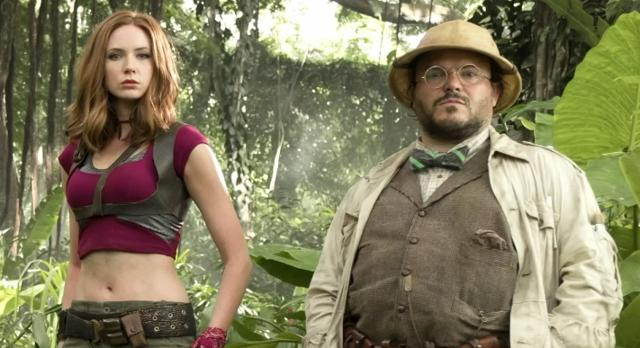 "Speaking at CinemaCon in Las Vegas, actor Jack Black says the new version of children's classic ""Jumanji"" references Alan Parrish - Robin Williams' character from the 1995 movie. (March 28)"