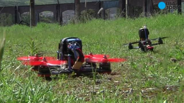 Drone racing takes flight