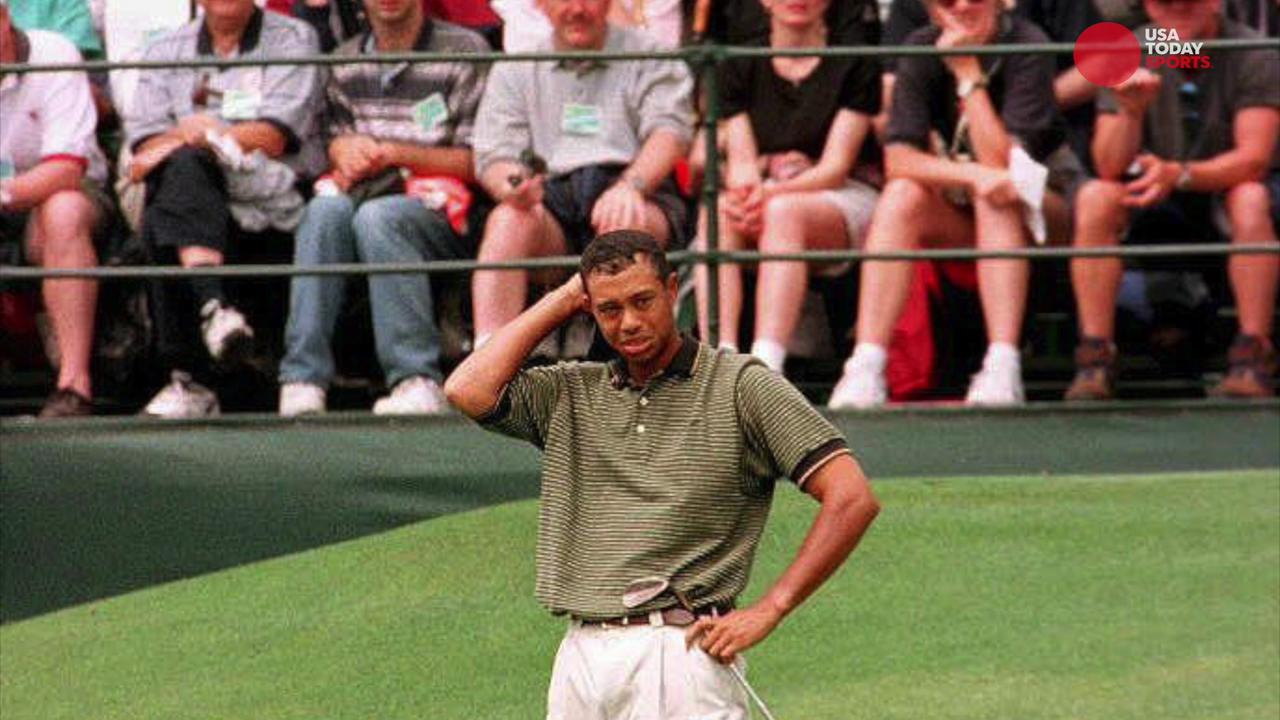 USA TODAY Sports' Steve DiMeglio looks at how Tiger Woods performance in the 1997 Masters changed the future of golf.