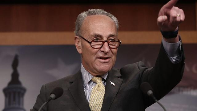 Senate Minority Leader Chuck Schumer said Thursday he wanted to block Neil Gorsuch's confirmation to the Supreme Court.