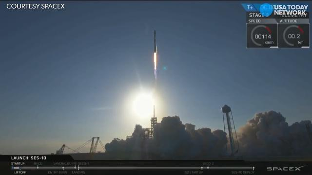 SpaceX launched and landed its 'flight proven' Falcon 9 rocket in a historic first for rocket re-usability.