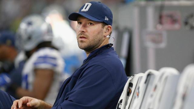 CBS is interested in hiring Cowboys quarterback Tony Romo as an analyst to replace Phil Simms as Jim Nantz's broadcast partner, NFL Network's Ian Rapoport reports.