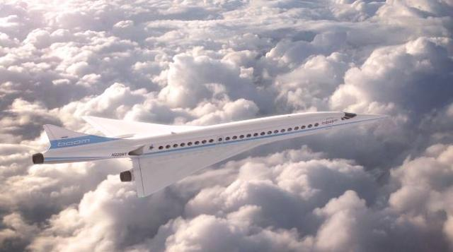 An aerospace company that counts Richard Branson as a backer has promised the return of supersonic passenger flights by the end of the next decade.