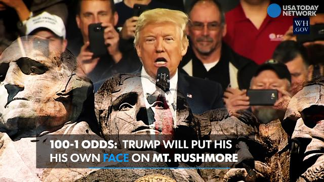 Great Britain is betting big money on a multitude of Presidential odds.