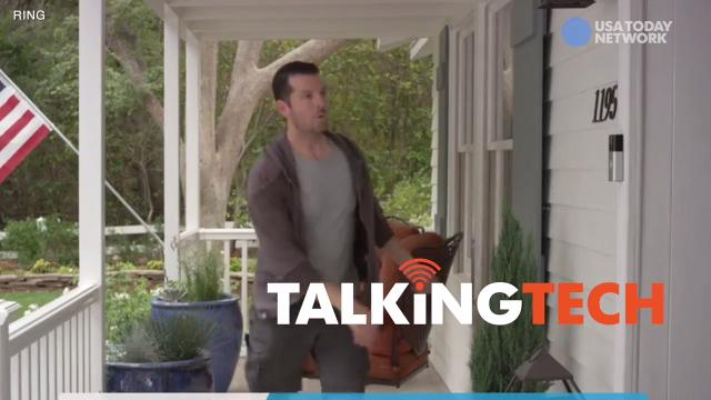 Ring founder Jamie Siminoff tells Jefferson Graham how his video doorbell and companion products spook burglars and help curb crime, on #TalkingTech.