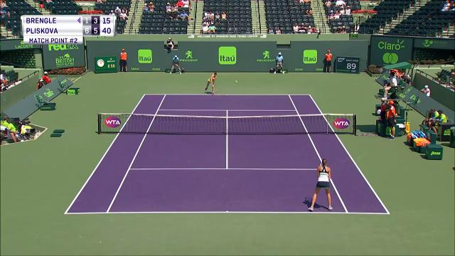 Day 3 at the Miami Open included highlights of some of the WTA's biggest names, such as Karolina Pliskova cruising to a win.