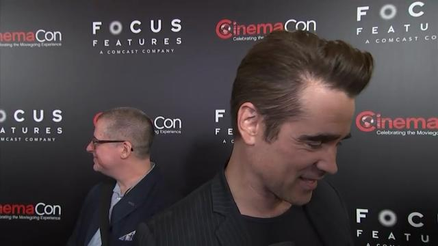 "At the CinemaCon presentation of Sofia Coppola's ""The Beguiled,"" actor Colin Farrell responds to ""Dumbo"" casting rumors and discusses being the only guy on the set of Coppola's movie. (March 30)"