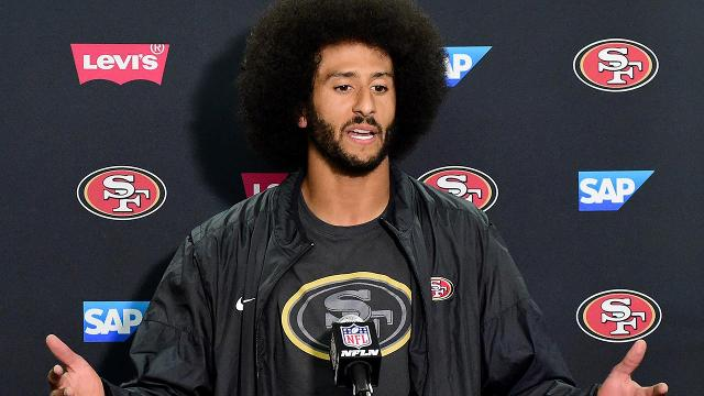Baltimore Ravens coach John Harbaugh believes quarterback Colin Kaepernick will be playing in the NFL this season.