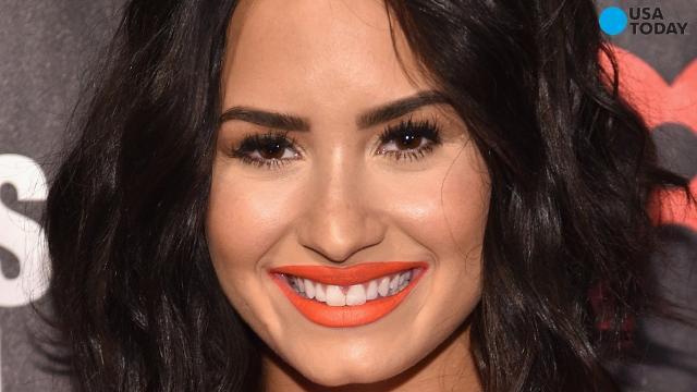 Demi Lovato laughs at photo leak
