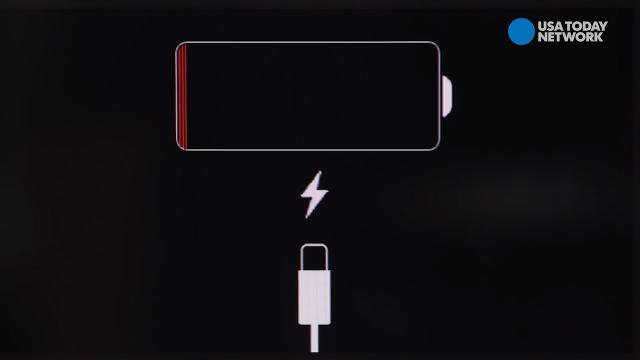 how to know if my iphone is charging when off