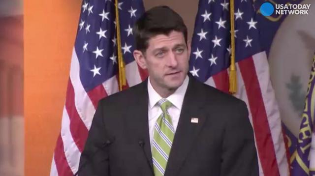 Paul Ryan: 'We came up short' on health care vote