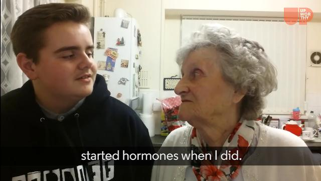 Teen comes out as transgender to his Nana