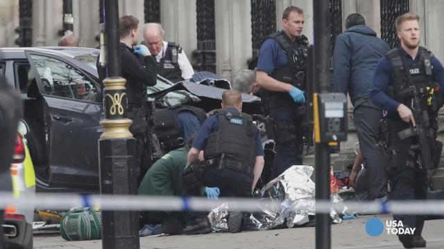 U.K. Parliament locked down after London attack