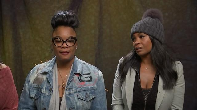 A love for hip-hop unites actress Nia Long and 1980s rapper Roxanne Shante. (March 27)