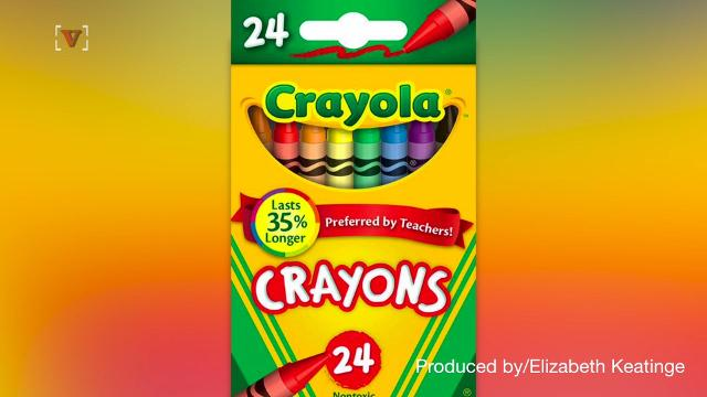 crayola reveals the color of crayon it is retiring