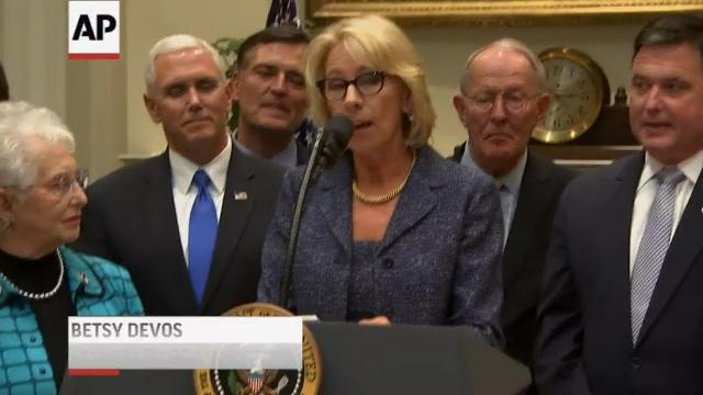Lawsuit Alleges Mississippi Deprives >> Trump Aims To Limit Federal Role In Education