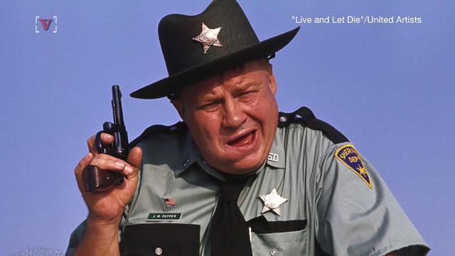 Clifton James, the actor best known for his portrayal of the bumbling Southern sheriff, JW Pepper in two James Bond films, has passed away at age 96. Jose Sepulveda(@josesepulvedatv) has more.
