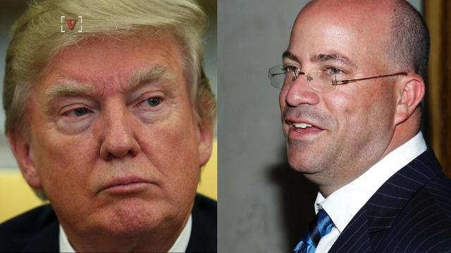 President Trump has had a long standing and often times volatile relationship with CNN Worldwide President Jeff Zucker. Angeli Kakade (@angelikakade) has the story.