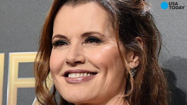Geena Davis is to reunite with the cast of 'A League of Their Own' to play a softball game to celebrate the movie's 25th anniversary.