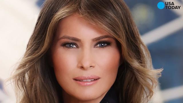 Melania Trump's portrait released