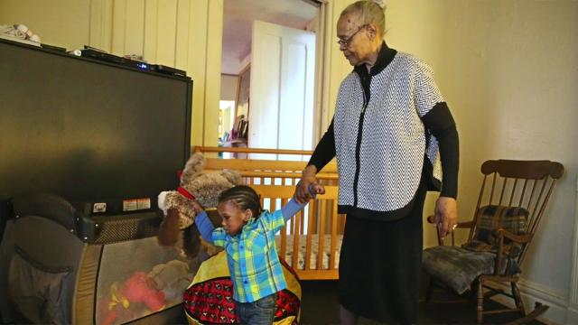This 77-year-old has cared for dozens of children