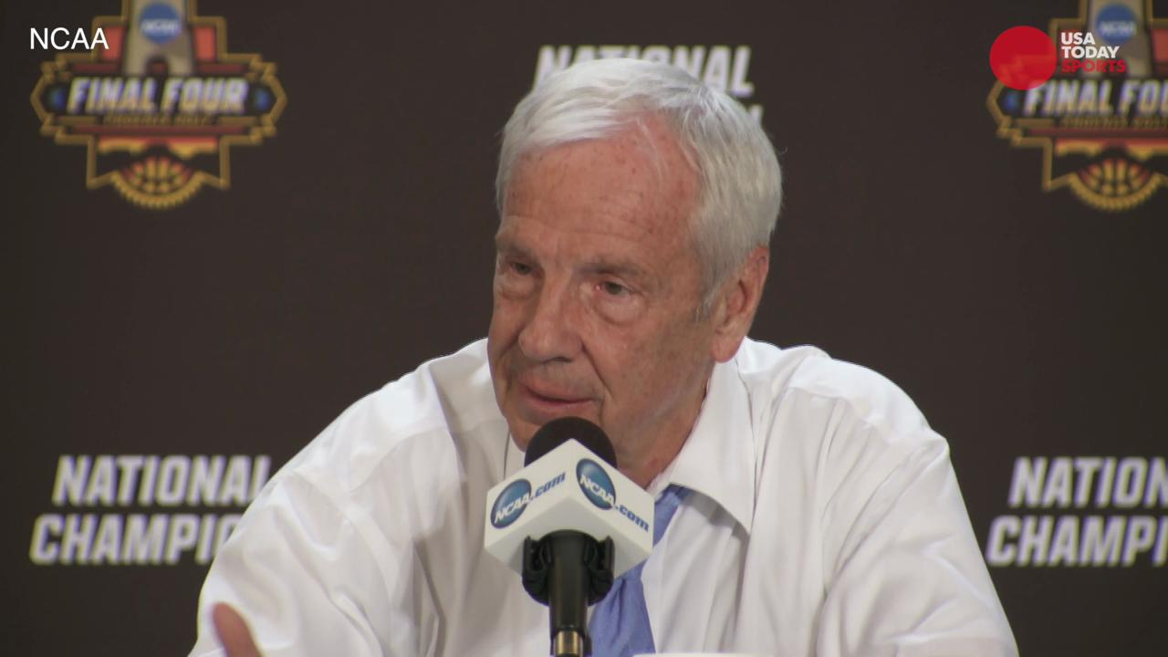 Highlights from North Carolina's postgame press conference include Theo Pinson, Roy Williams' thoughts on passing Dean Smith for national titles, and if the team is going to the White House.