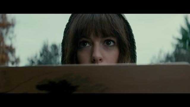 Anne Hathaway finds out she's in control of a Seoul-crushing monster in the comedy 'Colossal.'