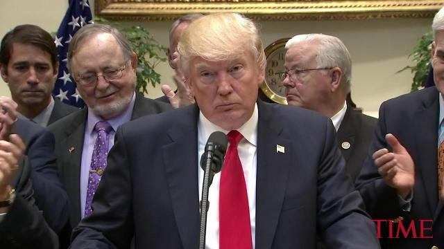 President Trump signs executive order on offshore energy