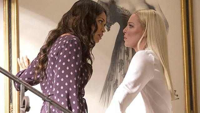 Katherine Heigl and Rosario Dawson, stars of 'Unforgettable,' talk about the definition of crazy with USA TODAY's Andrea Mandell.