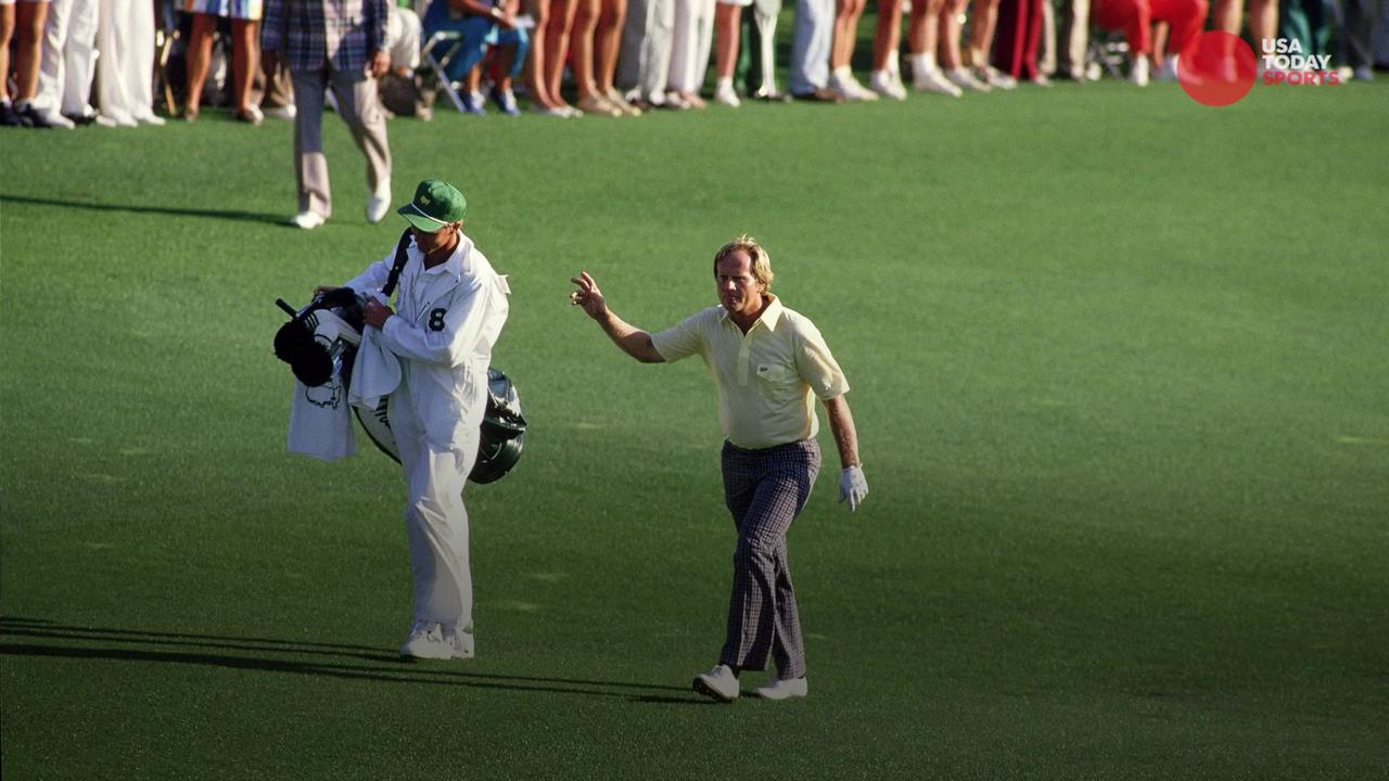Take a look back at the most memorable performances in the history of The Masters.