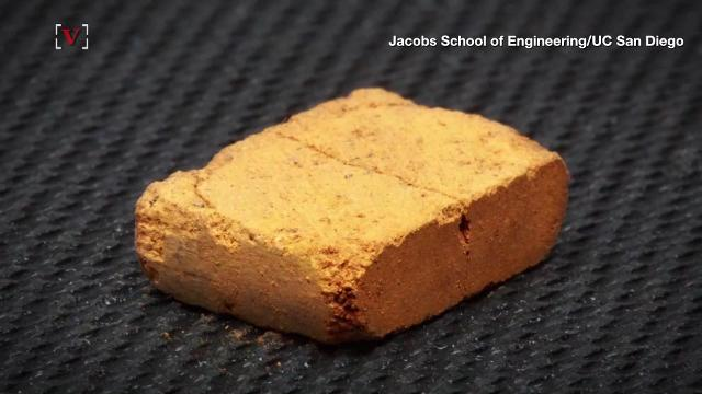 Some engineers just found a way to make bricks from the soil on Mars.