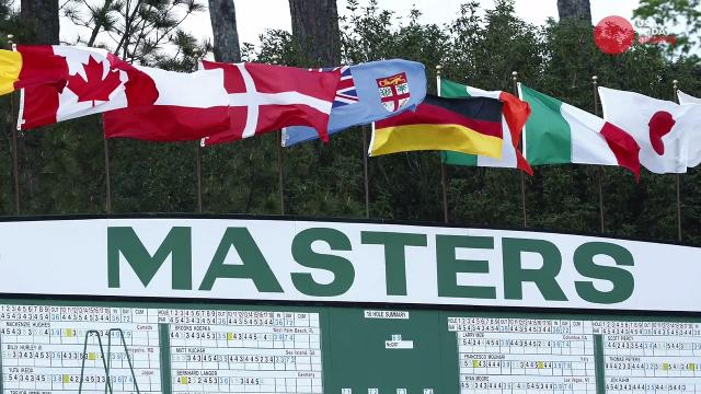 USA TODAY Sports' Nancy Armour recaps a wild and windy opening round at Augusta National.