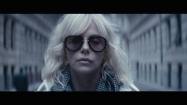 Charlize Theron is an undercover secret agent in the action film 'Atomic Blonde.'