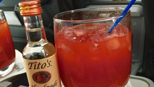 The reason tomato juice tastes better on the plane has to do with cabin pressure messing with our tastebuds. Sean Dowling (@seandowlingtv) has more.
