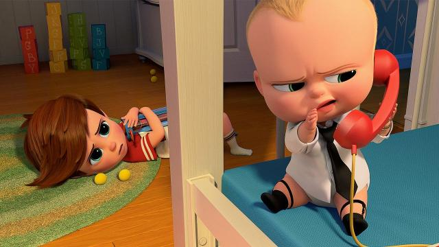 'The Boss Baby' took the No. 1 spot at the box office this weekend with $49 million, taking 'Beauty and the Beast' down a peg. Video provided by Newsy