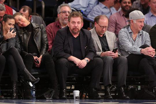 Image result for james dolan knicks