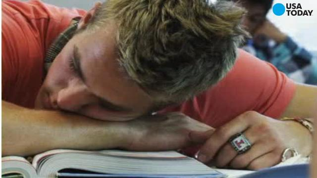 According to the American Academy of Sleep Medicine middle and high schools should start classes no earlier than 8:30 a.m. so that teens can get enough sleep during the week.