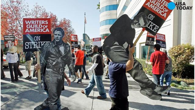 The Writers' Guild of America has voted yes to authorizing a strike if the guild's current negotiations with the Alliance of Motion Picture and Television Producers doesn't resolve by the May 1 deadline.