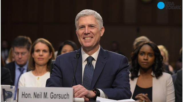 Mitch McConnell says Judge Gorsuch will be confirmed this week