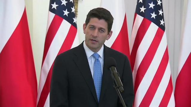 Speaker Ryan Visits Poland, Meets President Duda