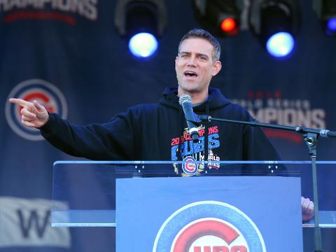 As the Cubs visit Boston on Friday for a three-game series, a look at the career of Cubs president Theo Epstein -- a former Red Sox GM.