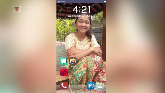 """The """"Finding Home"""" app takes over your smartphone, throwing you in the world of a 16-year old refugee girl from Myanmar."""