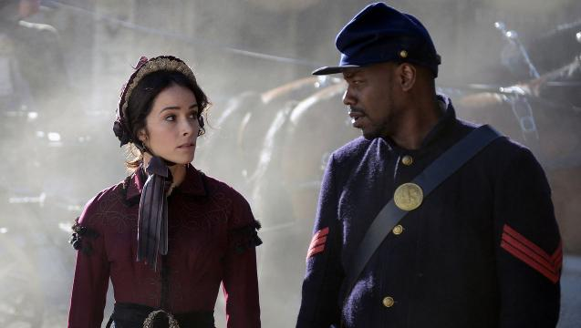 Malcolm Barrett and Abigail Spencer discuss  their NBC time-travel drama, 'Timeless,' one of the series on the bubble.