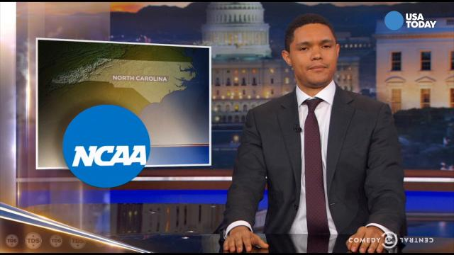 The late-night comics take a look at the state's controversial bathroom bill. Take a look at our favorite jokes, then vote for yours at opinion.usatoday.com.