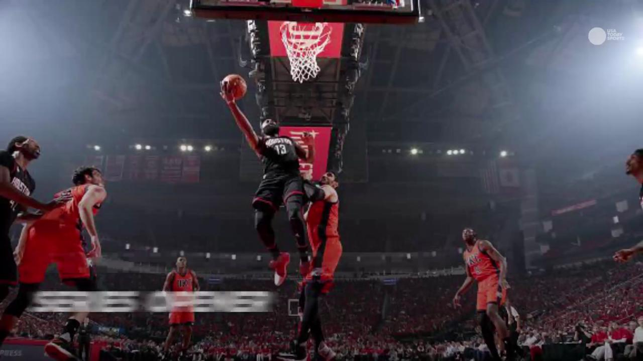 While the Warriors opened a quest for a third consecutive NBA Finals appearance, the Rockets dominated. Take a look back at the top moments from the weekend in the playoffs.