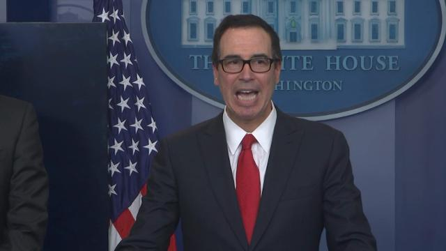 President Donald Trump 'has no intention' of releasing his taxes returns to the public, Treasury Secretary Steve Mnuchin said Wednesday. (April 26)