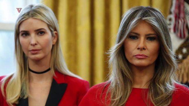 A new report suggests Ivanka and Melania Trump's relationship could be cooling. Nathan Rousseau Smith (@fantasticmrnate) explains.