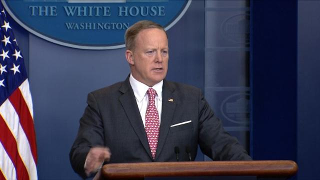 "White House Press Secretary Sean Spicer says that ""a nuclear-capable North Korea is not in anybody's best interests"", during the daily press briefing.