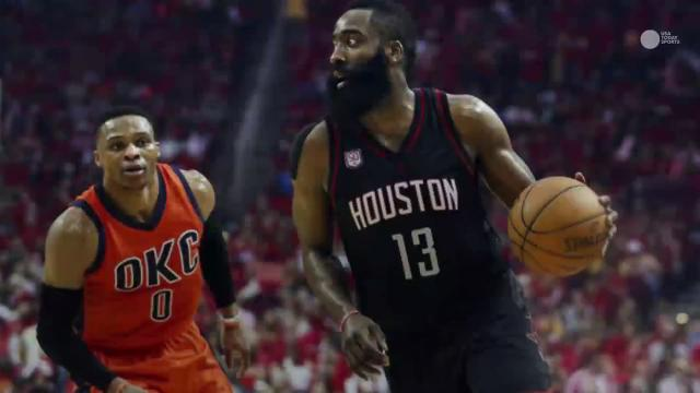 The Houston Rockets survived another big game from Russell Westbrook to climb to within a win of advancing to the second round of the NBA playoffs.